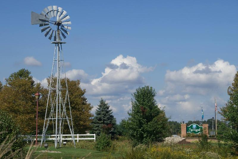 The original farm windmill that was left behind